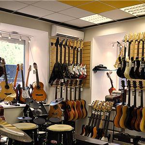 Музыкальные магазины Икши